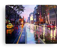 Flinders Street Canvas Print
