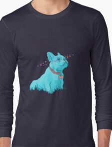 Enzo the French Bulldog! Long Sleeve T-Shirt