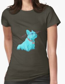 Enzo the French Bulldog! Womens Fitted T-Shirt