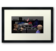 Situation Of The Flesh Framed Print