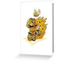 Wario Bugger Off!! Greeting Card