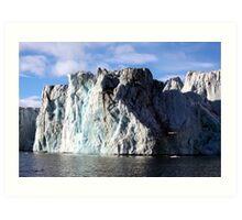The Glaciers Edge Art Print
