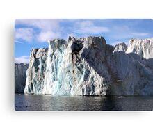 The Glaciers Edge Metal Print