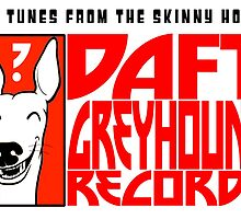 Daft Greyhound Records (posters, duvets, etc) by jameshardy