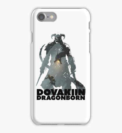 Dovakiin/Dragonborn Art Decal iPhone Case/Skin