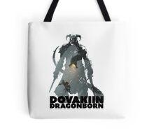 Dovakiin/Dragonborn Art Decal Tote Bag