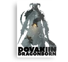 Dovakiin/Dragonborn Art Decal Metal Print