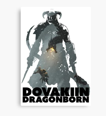 Dovakiin/Dragonborn Art Decal Canvas Print