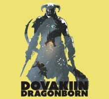 Dovakiin/Dragonborn Art Decal Kids Clothes