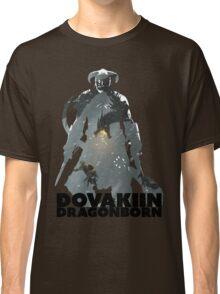Dovakiin/Dragonborn Art Decal Classic T-Shirt