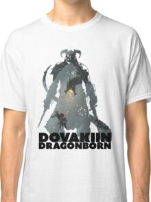 Dovakiin/Dragonborn Art Decal Classic T-Shirt