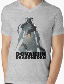 Dovakiin/Dragonborn Art Decal Mens V-Neck T-Shirt