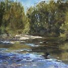 Wilson River 1 - paint out by Terri Maddock