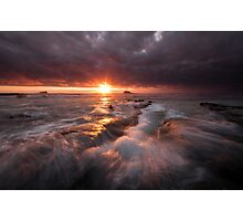 Maori Bay Boil Up Photographic Print