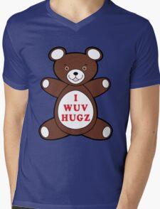 I Wuv Hugz Mens V-Neck T-Shirt