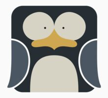 Penguin Icon Baby Tee
