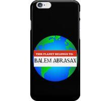 Property of Balem Abrasax iPhone Case/Skin