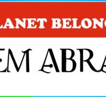Property of Balem Abrasax Sticker