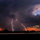 Sunset CG strike! by Jeremy  Jones