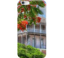 Old Annex of the Royal Victoria Hotel in Shirley Street - Nassau, The Bahamas iPhone Case/Skin