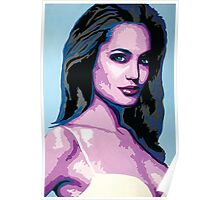 Abstract Angelina Jolie   2015 Poster