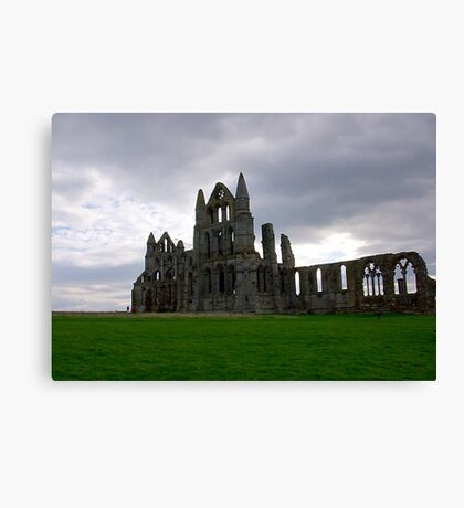 Whitby Abbey #4 Canvas Print