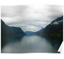 Skjolden Fjord  Poster