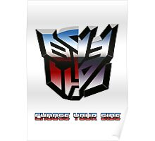 Transformers- Autobot/Decepticon Poster