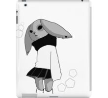 School bunny  iPad Case/Skin
