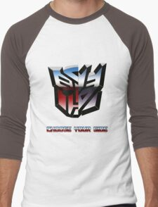 Transformers- Autobot/Decepticon Men's Baseball ¾ T-Shirt