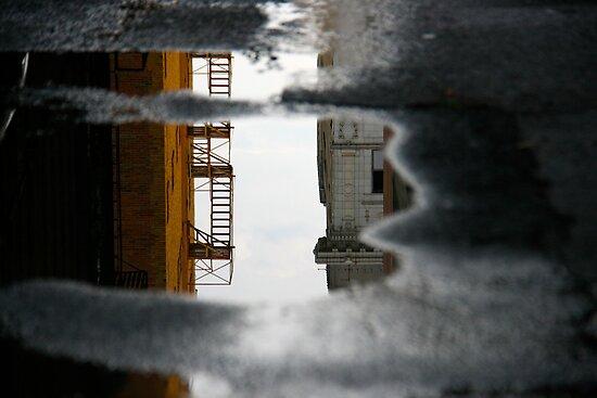 Downtown Reflected by Virginia Kelser Jones