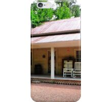 The Old Country Porch iPhone Case/Skin