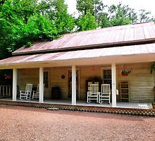 The Old Country Porch by RickDavis