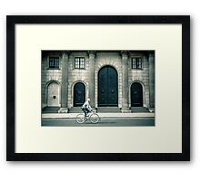 Financial Cycle Framed Print
