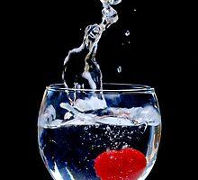 Wine Glass Splash by JamieOSullivan