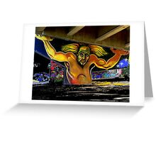 The Atlas of Chicano Park Greeting Card
