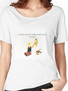 Best Birthday Present Ever Women's Relaxed Fit T-Shirt