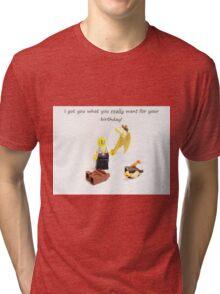 Best Birthday Present Ever Tri-blend T-Shirt