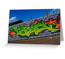 Graffiti(MOBE) Greeting Card