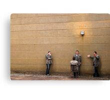 The Accused Canvas Print