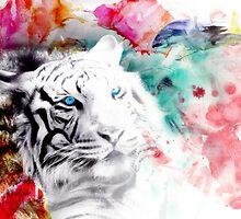 White tiger by Odd-Designs