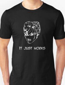 Jojo - It just works (Variant 2 White) T-Shirt
