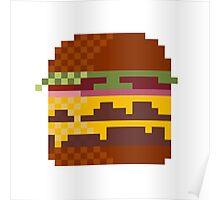 Pixeburger Poster