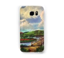 The Path to the Old Bridge Samsung Galaxy Case/Skin