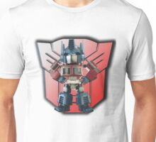 3D Prime And Backdrop Unisex T-Shirt