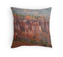 Bryce Canyon morning glory Throw Pillow