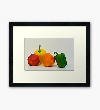 Multi Colored Framed Print
