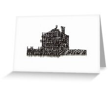 letter house Greeting Card
