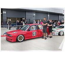 The Silverstone Classic  Cars 2015 Poster