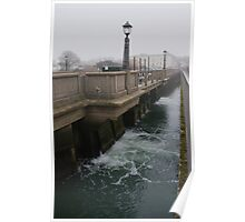 Bridge over the river Wey Poster